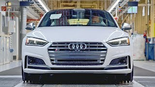 Audi Cars Production. YouCar Car Reviews.