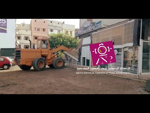 جرافات في حملة لتحرير الملك العمومي + فيديو