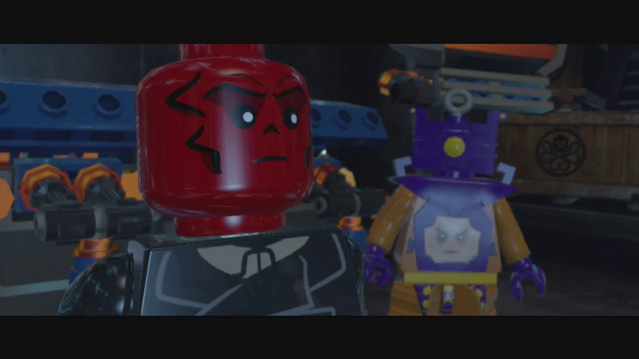 Lego Marvel Super Heroes - Red Skull Boss Battle HD - YouTube