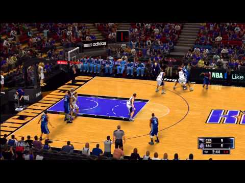 NBA 2K14: Sacramento Kings vs. Charlotte Bobcats HD Gameplay ft. Kemba Walker