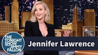 Jennifer Lawrence Shares Her Most Embarrassing Moments