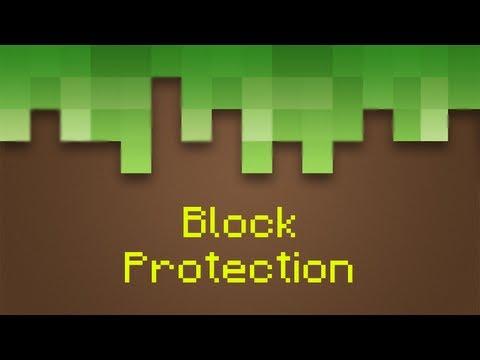 Minecraft Block Protection Plugin