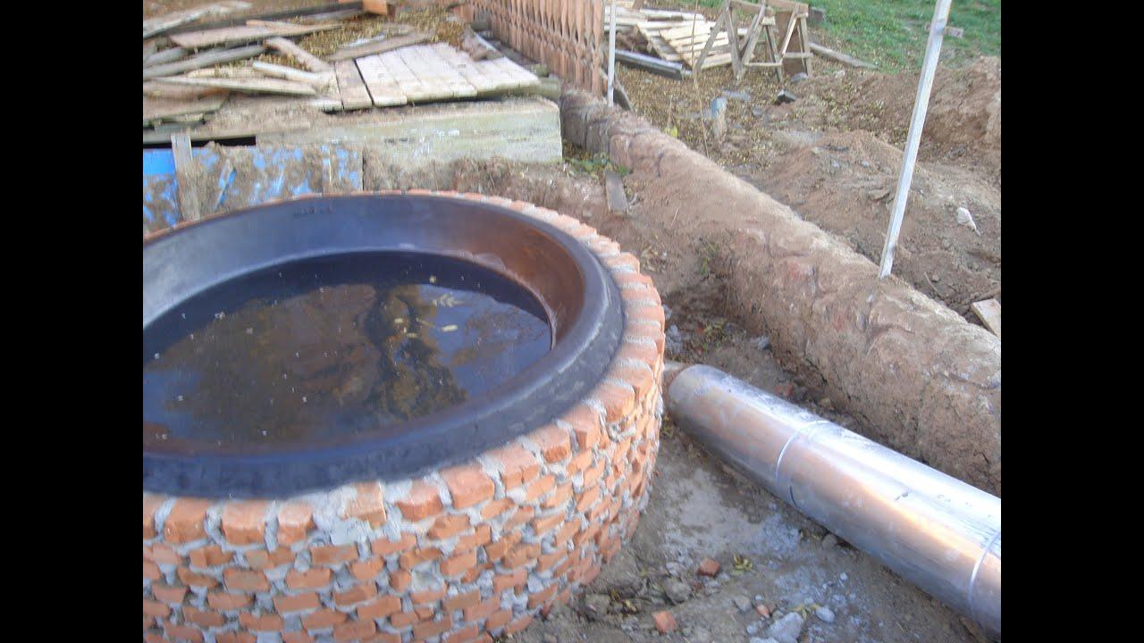 Сделать печь из чугунной ванны своими руками