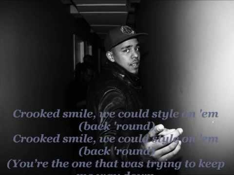 J. Cole -- Crooked Smile Lyrics-Clean