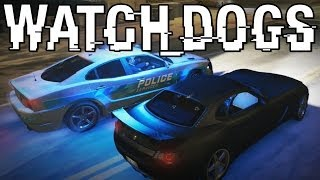 Watch Dogs | Boxberg LE Police Chase & Getting Hacked!