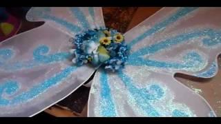 Disfraz: Como Hacer Alas De Mariposa O Hada :) 2a Parte