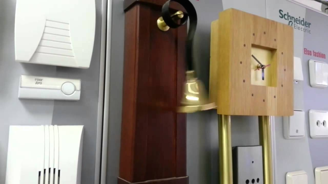 Дверной звонок с колокольчиком