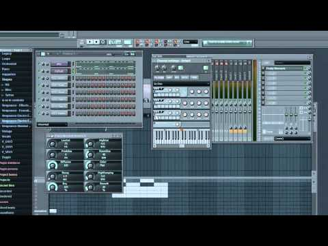 david guetta who's that chick afrojack remix FL studio 9 tutorial