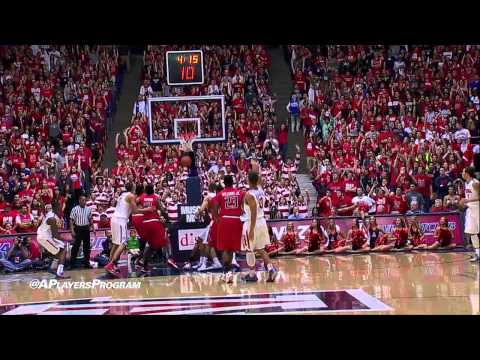 No. 2 Arizona Takes Down Texas Tech, 79-58 Highlights