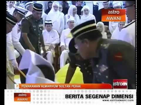 Upacara pemakaman Sultan Perak, Almarhum Sultan Azlan Shah
