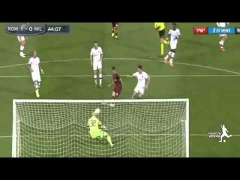 AS Roma vs AC Milan 2 0 All Goals & Highlights 25 04 2014