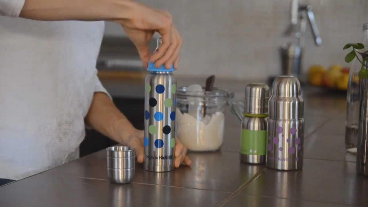 pr parer son biberon de lait en poudre avec organic kidz. Black Bedroom Furniture Sets. Home Design Ideas