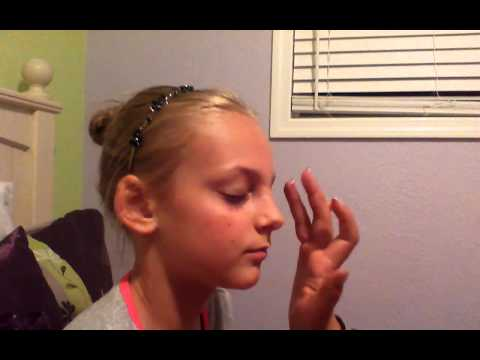 Preteen natural makeup tutorial
