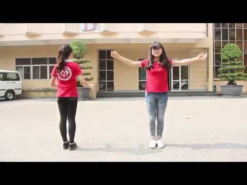 [Flashmob Happy Day IV] Hướng dẫn nhảy Happy - Timber