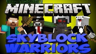Minecraft NEW SKYBLOCK WARRIORS Minigame