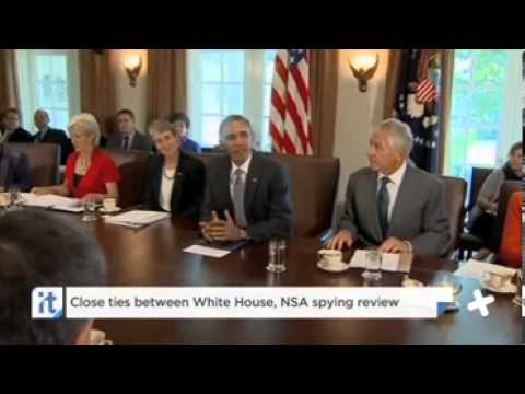 Close Ties Between White House  NSA Spying Review *