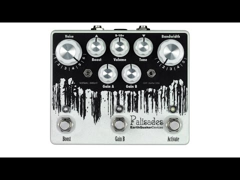 EarthQuaker Devices Palisades Dual Overdrive & Boost Pedal