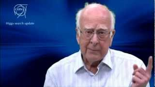 Higgs Boson Discovery announcement by Peter Higgs