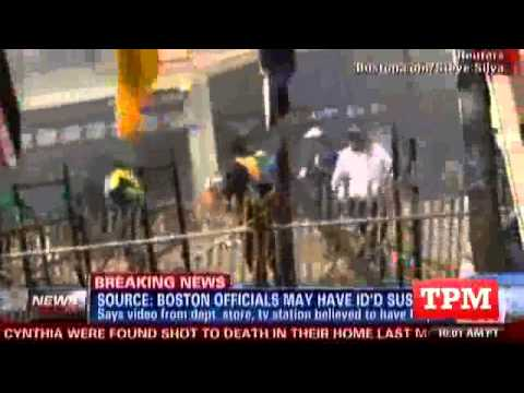 CNN Reports Suspect Identified In Boston Bombing