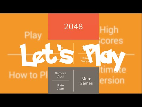 2048 : Attempt at 8192