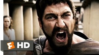 This Is Sparta! 300 (1/5) Movie CLIP (2006) HD