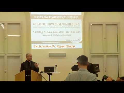 Rupert Stadler zu 40 Jahre Bildungszentrum St. Bernhard