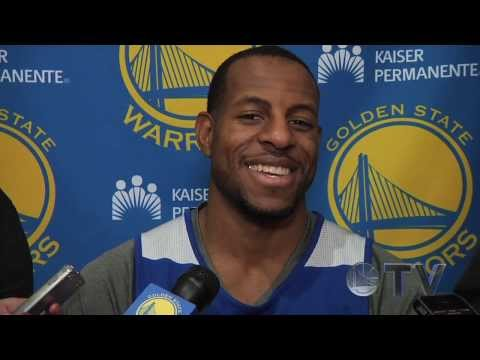 Practice Interviews: Jackson and Iguodala - 11/15/13