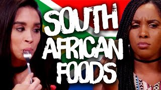 Trying Foods from South Africa! (Cheat Day)