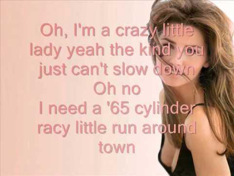 lyrics shania twain you are: