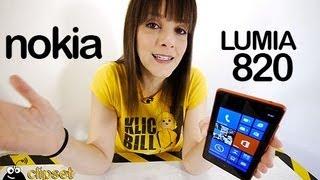 Nokia Lumia 820 Windows Phone 8 Review Videorama