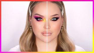 How I USED To Do My Makeup VS. NOW!   NikkieTutorials