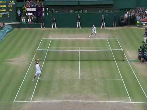 Federer vs Nadal Wimbledon 2008 Final Part 1