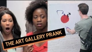 The Art Gallery Prank