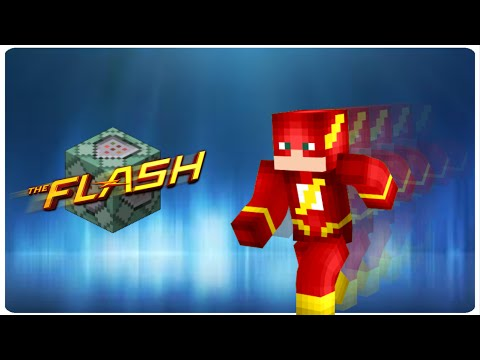 The Flash in vanilla MC | ONLY ONE COMMAND BLOCK (1.10)
