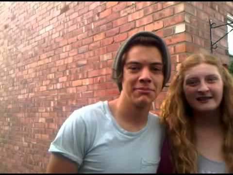 Harry Styles in Holmes Chapel 7/14/12 video by aisforaleeex