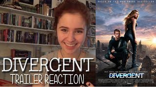 Divergent Theatrical Trailer Reaction!