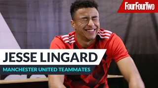 "Jesse Lingard | ""Paul Pogba is always late!"" 