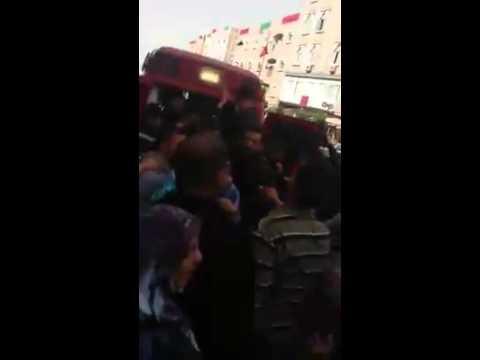 بالفيديو: لحظة خروج ابطال الامعاء الفارغة