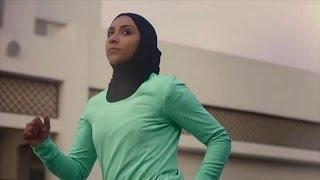 شركة نايك تطلق برو حجاب للرياضيات المسلمات المحجبات |