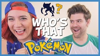 WHO'S THAT POKEMON?! (ft.  Brizzy Voices) ► JamesChats