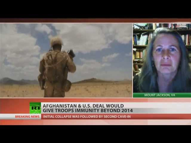 Afghan leaders discuss granting immunity to US troops