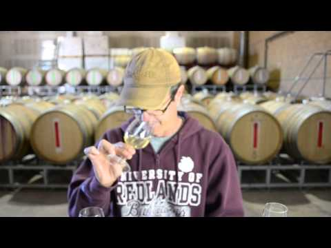 1.14.2014 Wes Hagen Tastes and Discusses Clos Pepe 2013 Barrel Samples
