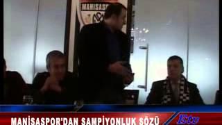 Manisaspor'dan şampiyonluk sözü