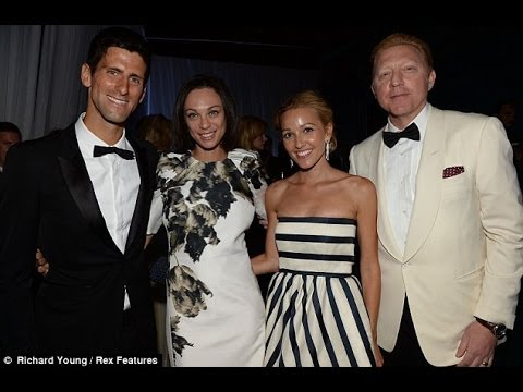 Djokovic's training With His New Coach Boris Becker 2013 -2014 【Full HD】