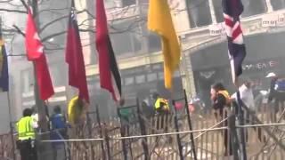 Detik-detik Ledakan Bom Boston