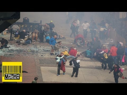 Boston Marathon blasts captured by runner - Truthloader
