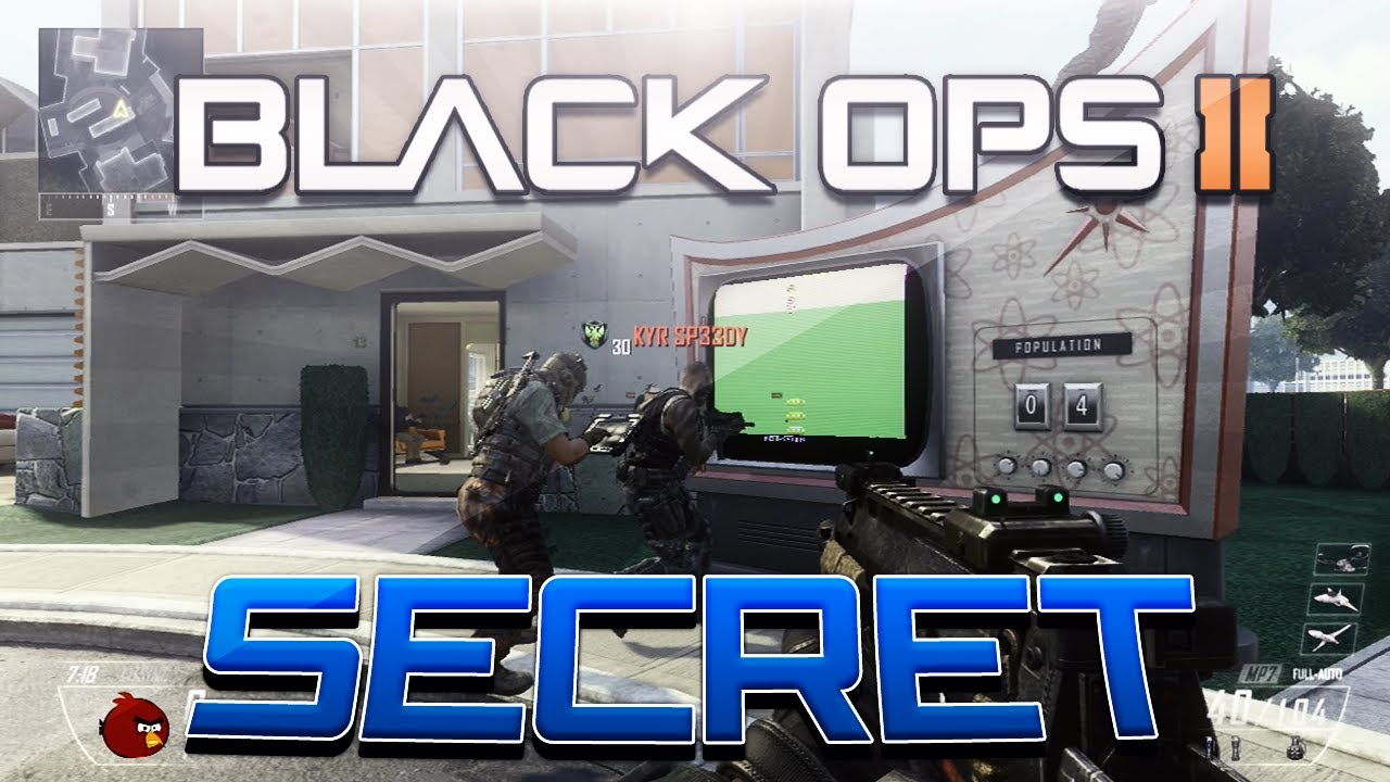 Black Ops 2 Nuketown 2025 Easter Egg! (Black Ops 2 ...