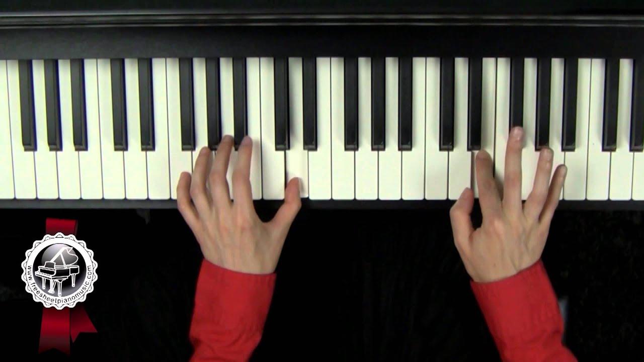 swan lake theme piano pdf
