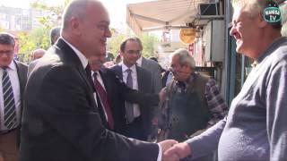 Karaköy Başkan Cengiz Ergün'ü Ağırladı