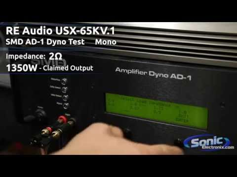 Sonic Electronix Certified Amp: RE Audio USX-65KV.1